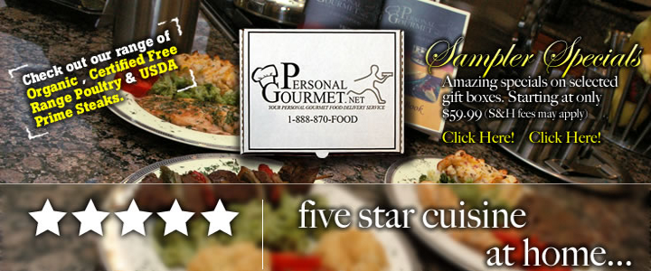 Personal Gourmet Sampler Specials
