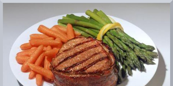 Personal Gourmet Bacon Wrapped Filet Mignon