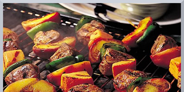 Personal Gourmet Filet Mignon Kabobs with Veggies
