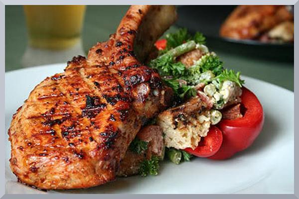 Personal Gourmet Pork Chops