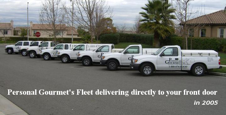 Personal Gourmet Fleet