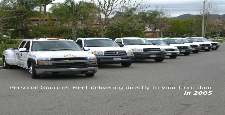 Personal Gourmet Truck Fleet 2005